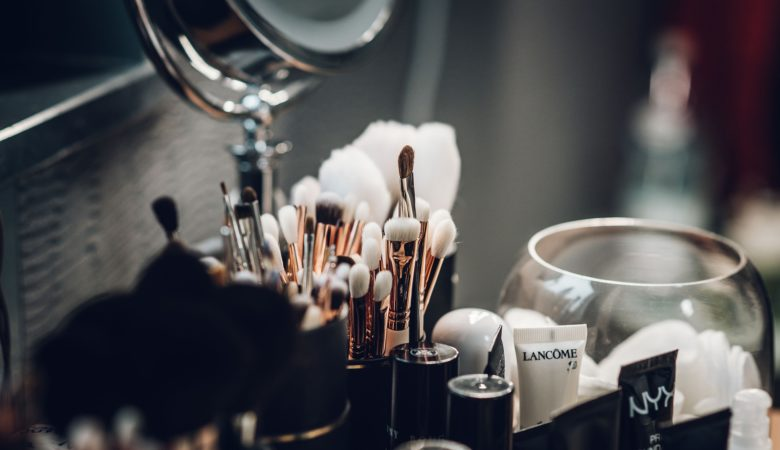 Makeup tools and cosmetics